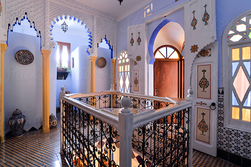Inside a riad by Bisual Studio for Stocksy United