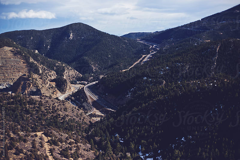 Utah Mountain Road by Sean Horton for Stocksy United