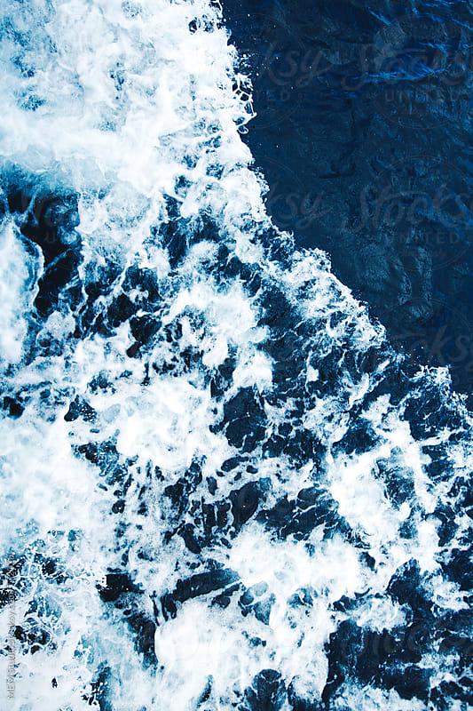 ocean foam by MEM Studio for Stocksy United