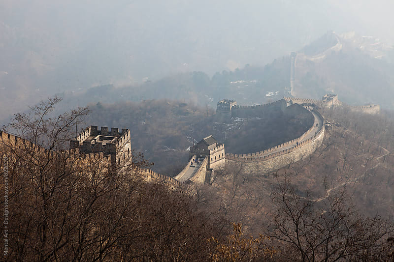 The Great Wall of China by Mental Art + Design for Stocksy United