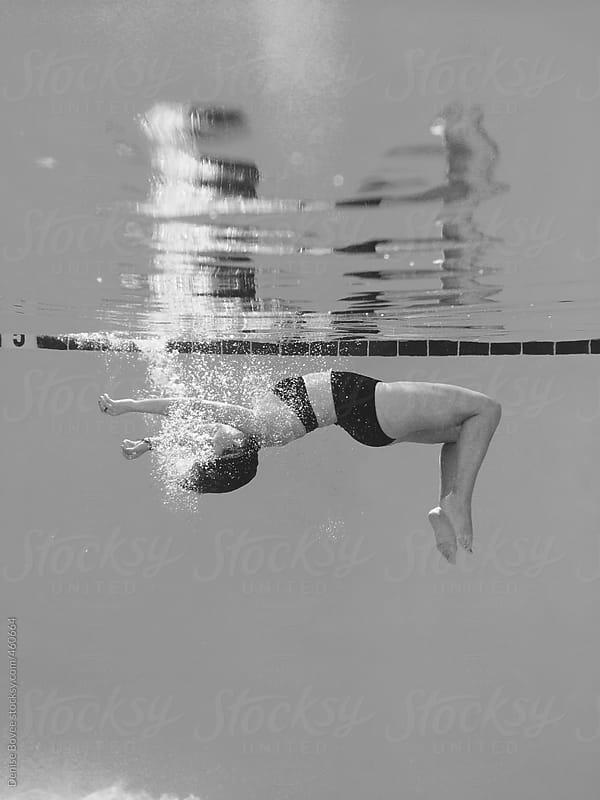 Woman Underwater by Denise Bovee for Stocksy United