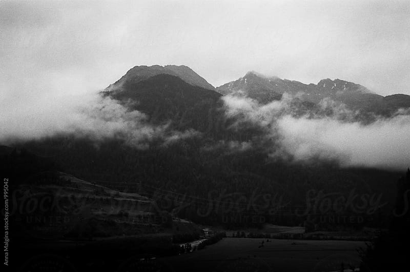 A fog in the Alps mountain  by Anna Malgina for Stocksy United