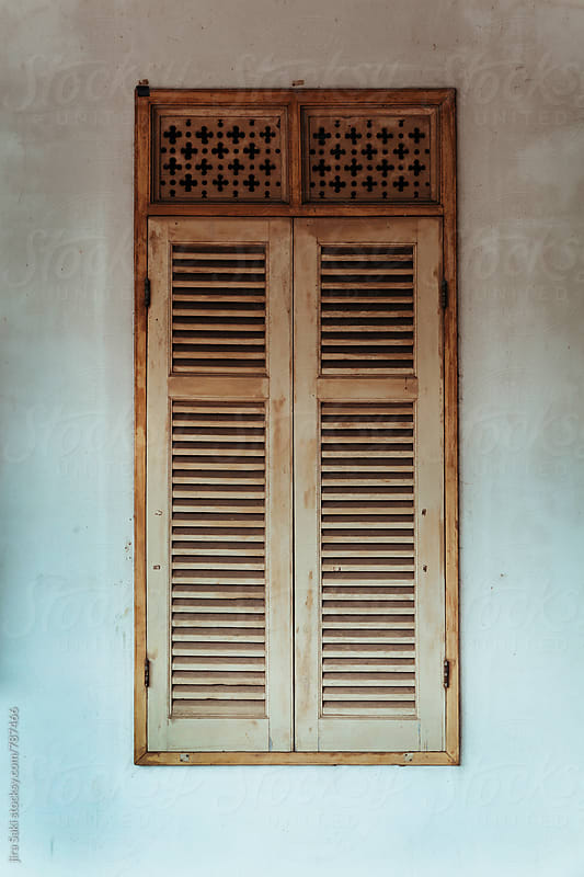 rustic window by jira Saki for Stocksy United