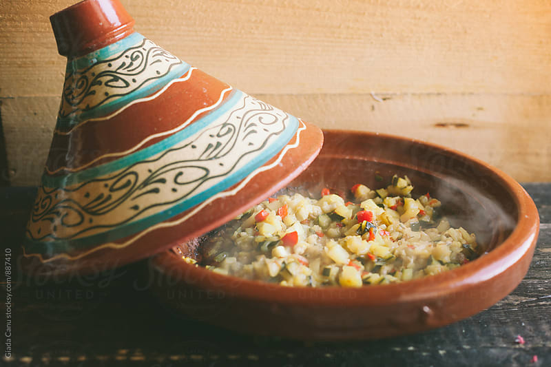 Vegetables stewed in a tajine by Giada Canu for Stocksy United