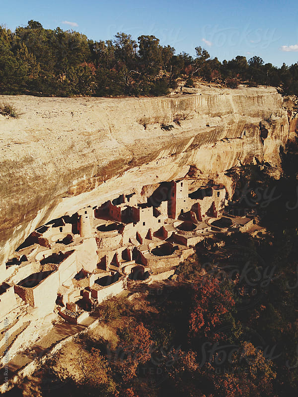 Ancient Cliff Dwellings by Kevin Russ for Stocksy United