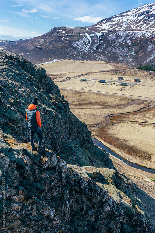 Hiking in Iceland by Søren Egeberg Photography for Stocksy United