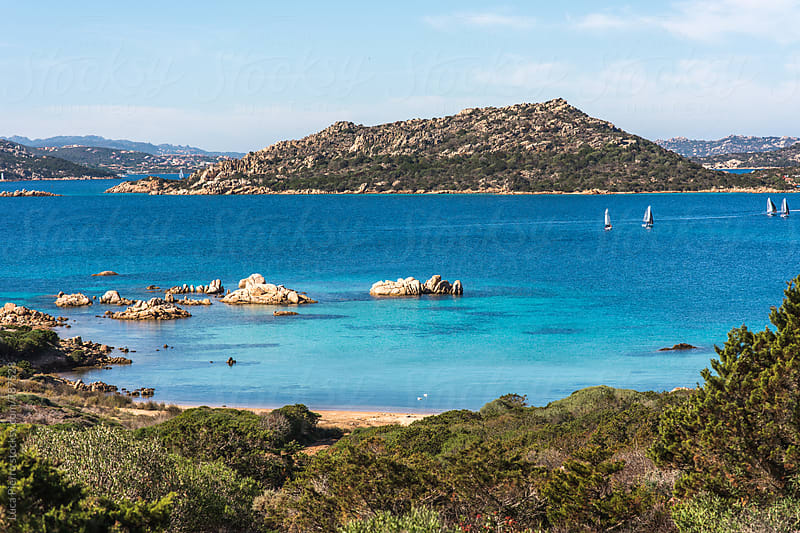 La Maddalena island, Sardinia by Luca Pierro for Stocksy United