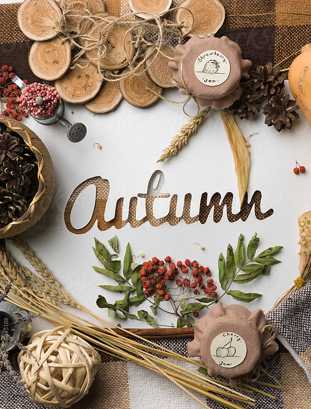 Autumn Sign by Milles Studio for Stocksy United