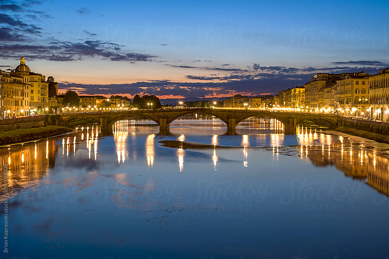 The Blues on the River Arno by Brian Koprowski for Stocksy United