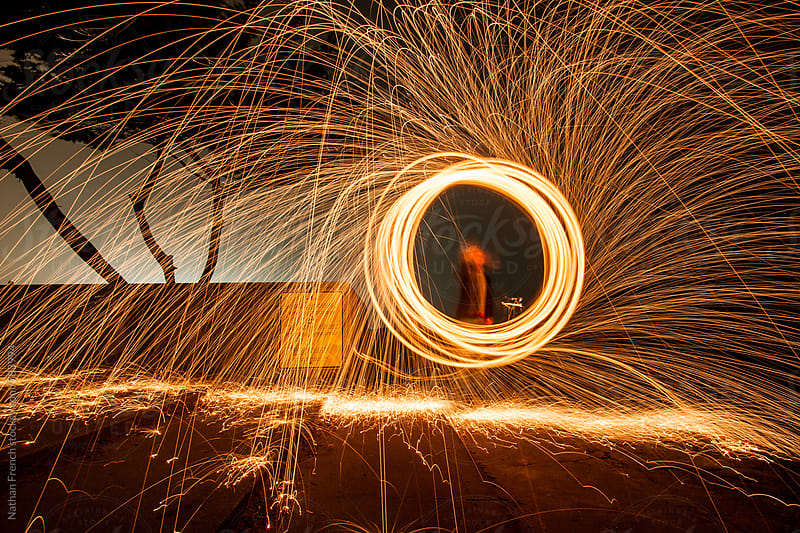 Spinning Sparks by Nathan French for Stocksy United