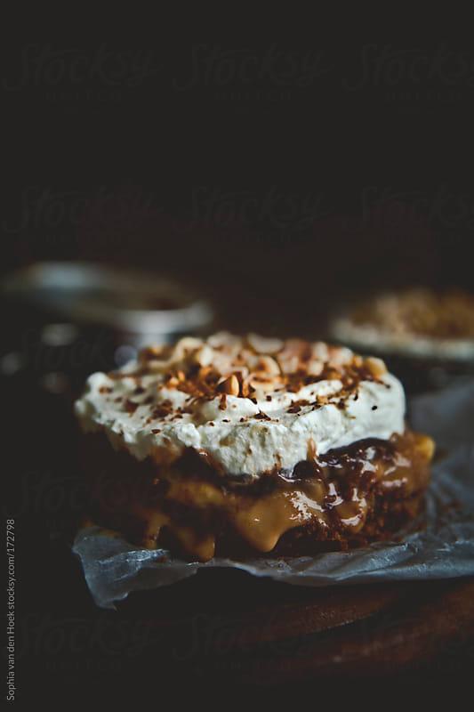 Banoffee pie by Sophia van den Hoek for Stocksy United