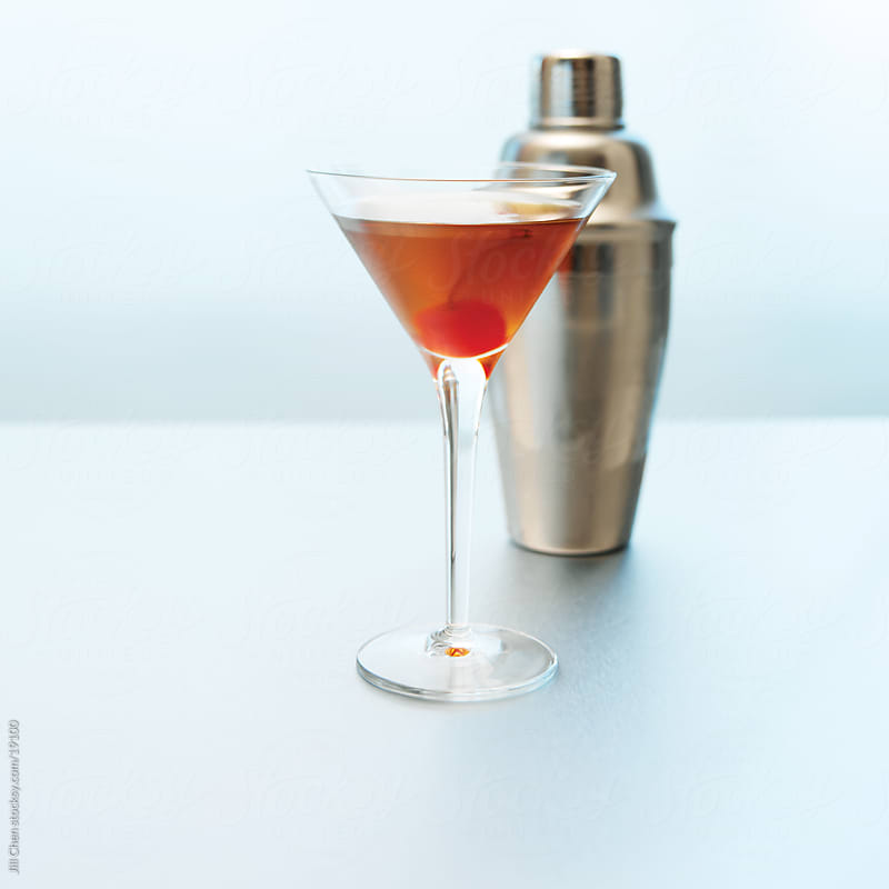 Manhattan Cocktail by Jill Chen for Stocksy United