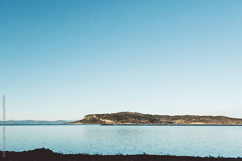 Lake in Norway by Sophia van den Hoek for Stocksy United