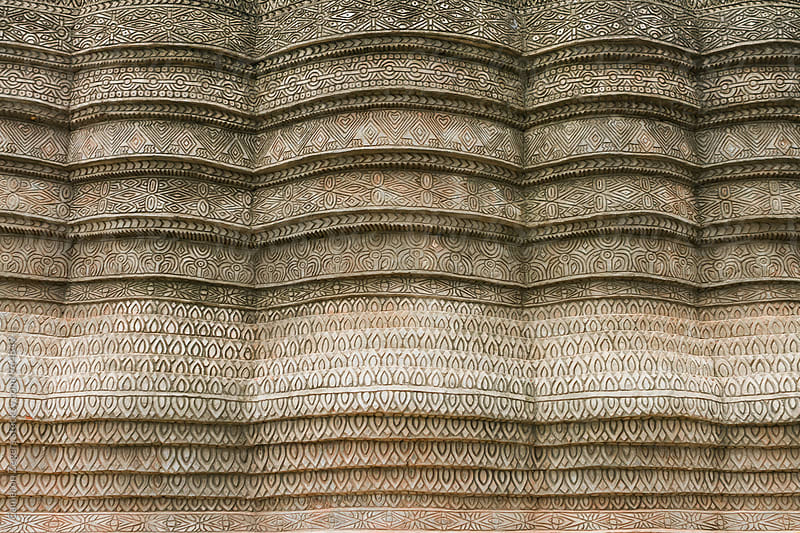detail at Thailand temple by Cameron Zegers for Stocksy United