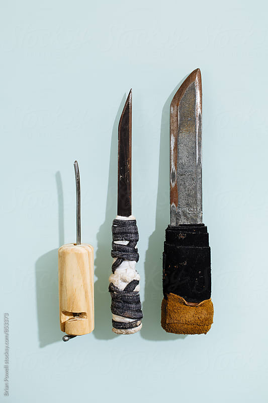 prison shanks and shivs by Brian Powell for Stocksy United