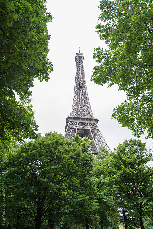 Eiffel Tower in Paris by Peter Wey for Stocksy United