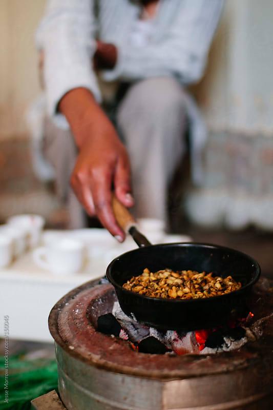 Ethiopian Coffee Roast by Jesse Morrow for Stocksy United