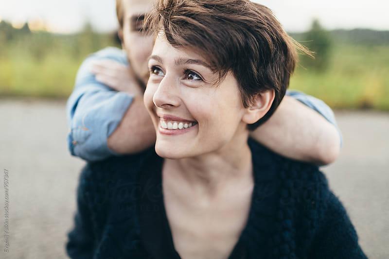 Beautiful female close up by Evgenij Yulkin for Stocksy United