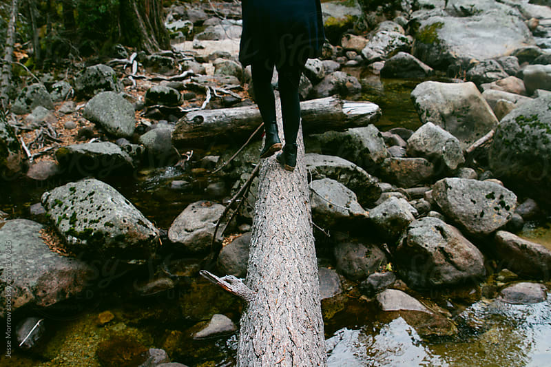River Crossing by Jesse Morrow for Stocksy United