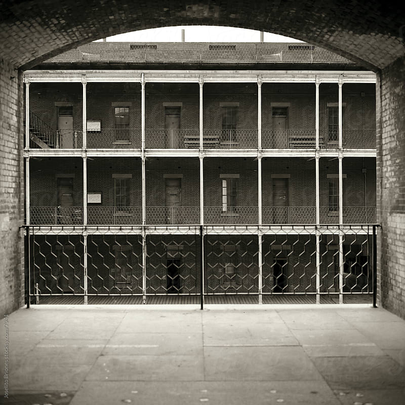 Barracks at Fort Point, San Francisco by Joselito Briones for Stocksy United