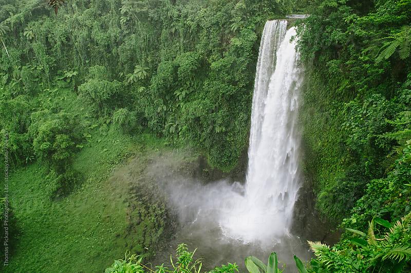 Fuipisia Falls, South Coast, Samoa. by Thomas Pickard for Stocksy United