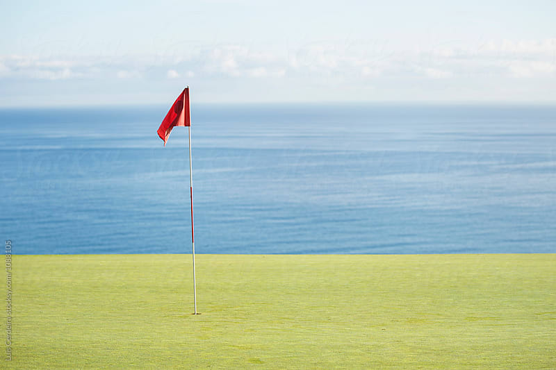 Golf course by Luis Cerdeira for Stocksy United
