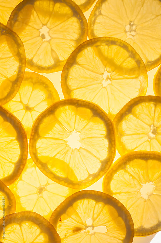 Lemon slices. by Mosuno for Stocksy United