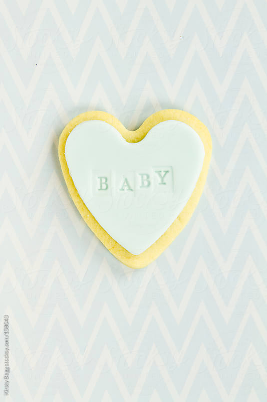 Blue Baby cookie by Kirsty Begg for Stocksy United