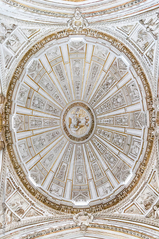 Dome of the Cathedral of Cordoba by ACALU Studio for Stocksy United
