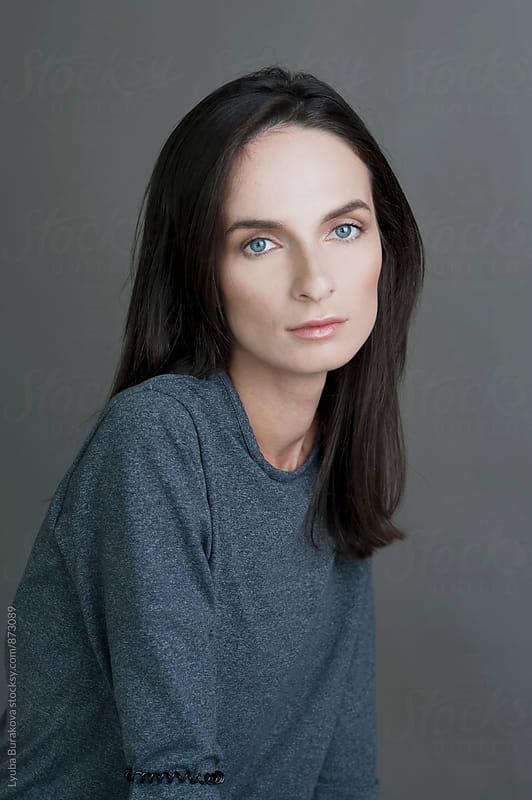 Portrait of a woman by Lyuba Burakova for Stocksy United