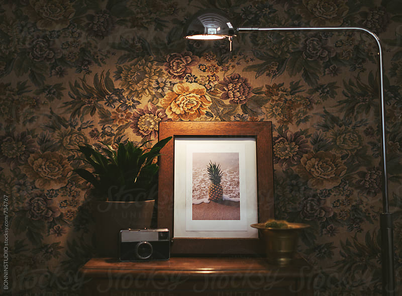 Vintage living room. by BONNINSTUDIO for Stocksy United