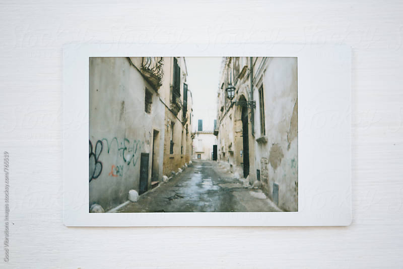 Instant photo from Lecce, Italy by Good Vibrations Images for Stocksy United