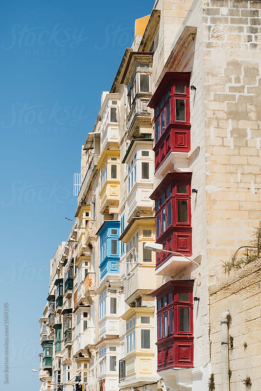Maltese buildings by Sam Burton for Stocksy United