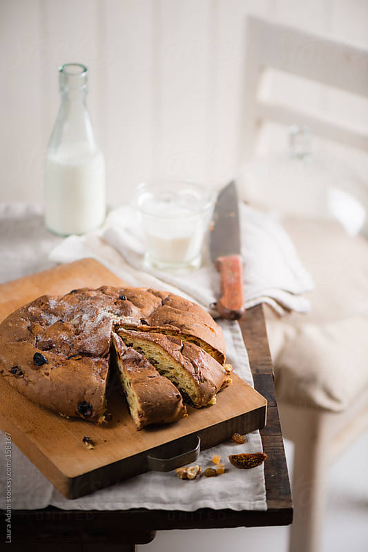 sweet italian 'focaccia' by Laura Adani for Stocksy United