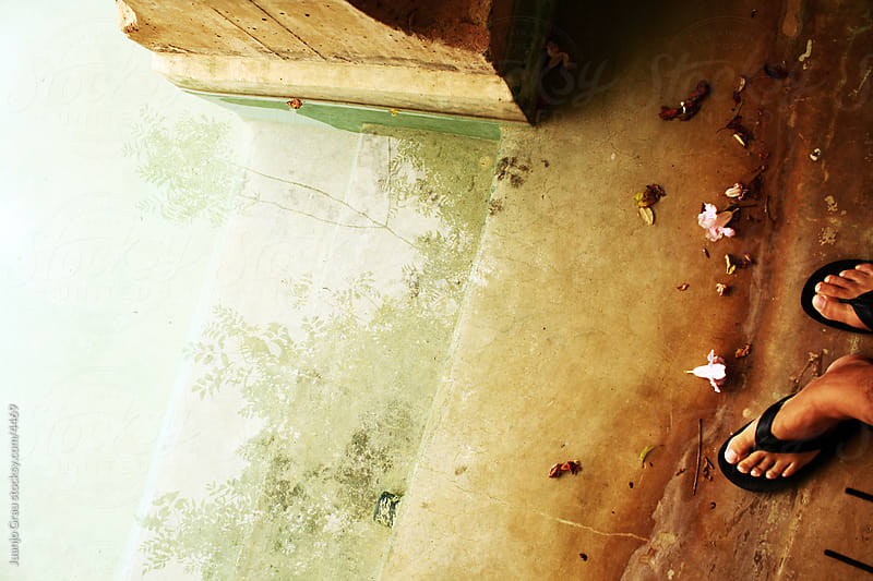 Foot & Water by Juanjo Grau for Stocksy United