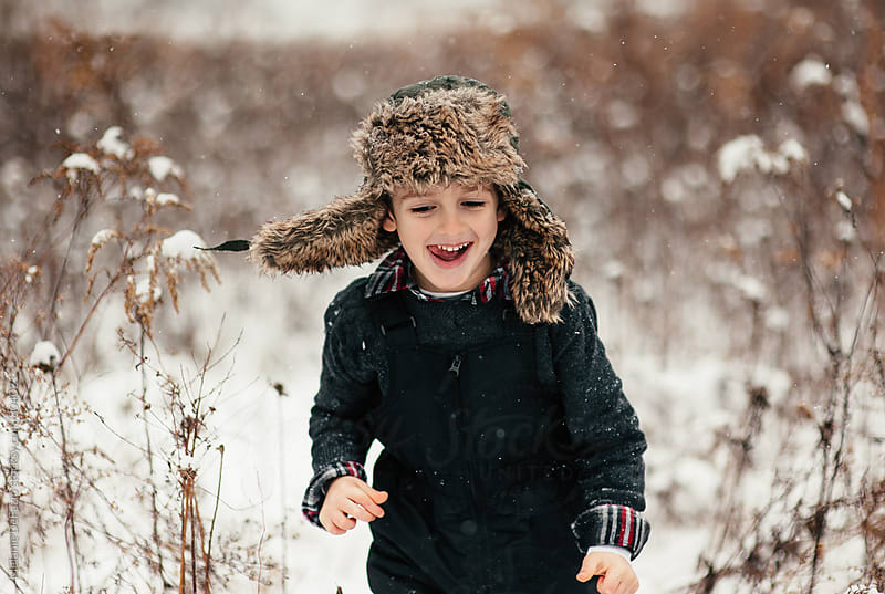 Snow day by Melanie DeFazio for Stocksy United