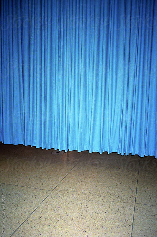 Blue Curtain by Di Na for Stocksy United