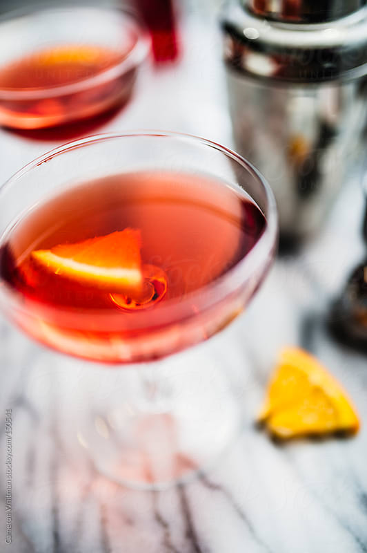 Negroni Cocktail by Cameron Whitman for Stocksy United