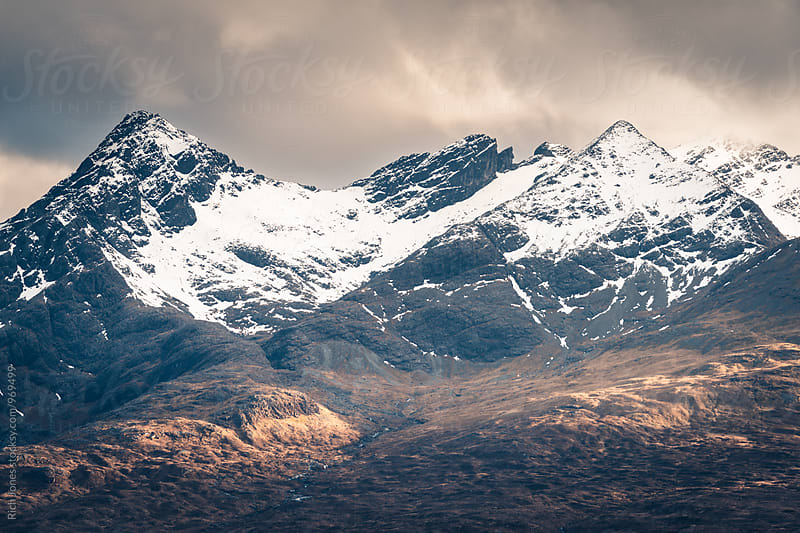 Cullin Mountains, Isle of Skye by Rich Jones for Stocksy United