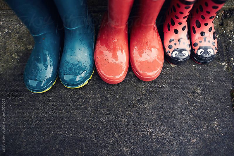 Wellington boots by sally anscombe for Stocksy United