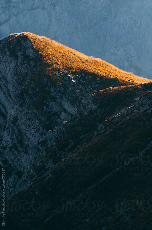 Amazing view of the mountains in the morning by Dimitrije Tanaskovic for Stocksy United