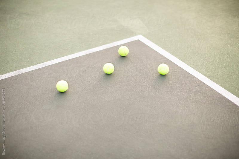 Tennis balls  by Ann-Sophie Fjelloe-Jensen for Stocksy United