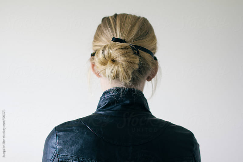 Back view of girl with blonde hair by Jacqui Miller for Stocksy United