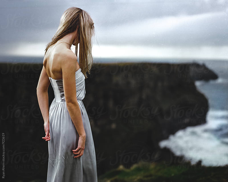 Cliffs of Moher  by Ryan Ahern for Stocksy United