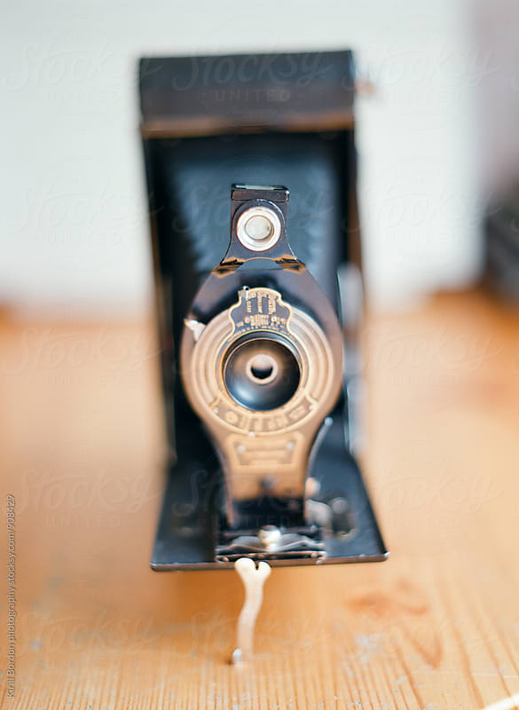 antique camera by Kirill Bordon photography for Stocksy United