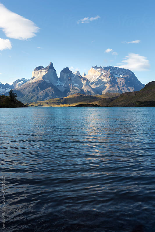 Los Cuernos in Torres del Paine National Park by Jovana Milanko for Stocksy United