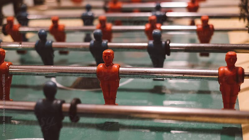 Table soccer  by Brkati Krokodil for Stocksy United