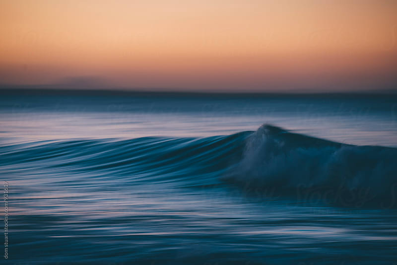 Ocean Sunset by dom stuart for Stocksy United