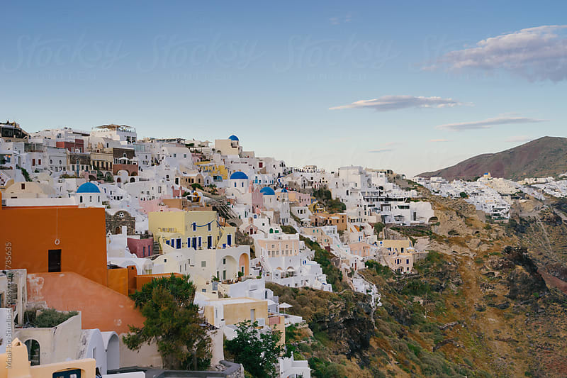 Santorini, Oia by Maa Hoo for Stocksy United