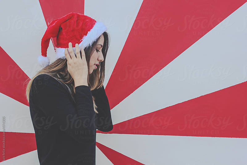Christmas girl by luis felix for Stocksy United